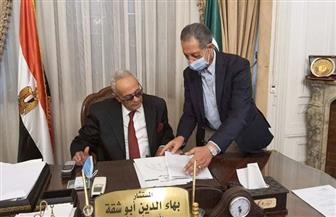رئيس الوفد يترأس غرفة عمليات متابعة انتخابات مجلس النواب