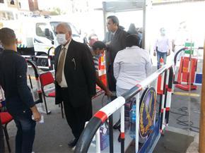 رئيس محكمة البحر الأحمر يتفقد اللجان الانتخابية بالغردقة | صور