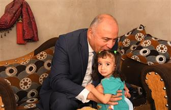 حكاية الطفلة «زمزم» بقنا.. عانت من آلام القلب وتم علاجها برعاية الحكومة | صور