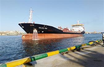 تداول 23 سفينة وشحن 3471 طن صودا كاوية بموانئ بورسعيد | صور