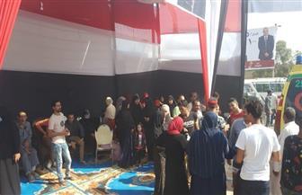 إقبال جماهيري كثيف للمشاركة بانتخابات النواب بلجان كرداسة | صور