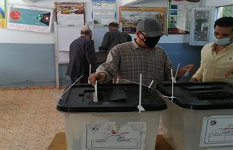 تصويت كثيف في انتخابات النواب مدرسة أبو الهول القومية بعد ساعة الراحة   صور