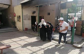 لجان الاقتراع بحي الدقي تواصل استقبال الناخبين بعد ساعة استراحة