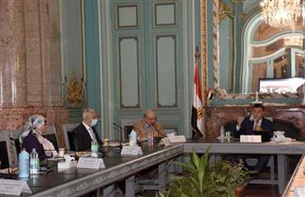 """""""المتيني"""" يبحث تعزيز أطر التعاون بين جامعة عين شمس و""""الشعب الصينية"""" صور"""