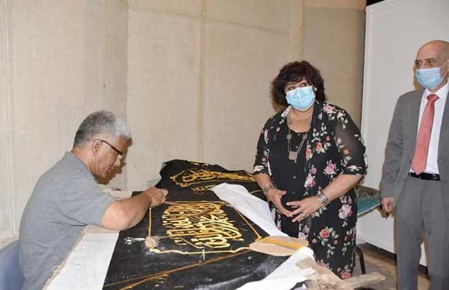 عبدالدايم في افتتاح الدورة الثالثة عشر من مهرجان الحرف التقليدية الفنون التراثية عنوان للهوية  صور