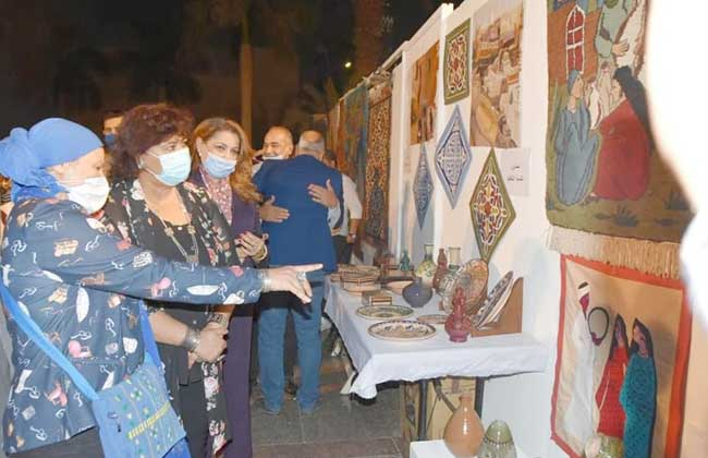 افتتاح الدورة الثالثة عشرة من مهرجان الحرف التقليدية