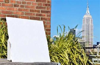مادة طلاء لتبريد الأسطح تحت أشعة الشمس المباشرة