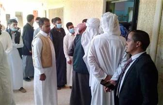 بدء توافد المواطنين على لجان الاقتراع في جولة الإعادة بمجلس النواب في مطروح | صور