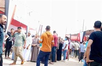 توافد الناخبين بلجان مدرسة القومية بحي العجوزة | صور