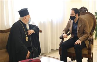 """الأمين العام لـ""""لأخوة الإنسانية"""" يناقش مع رئيس أساقفة القسطنطينية سبل تعزيز الحوار"""