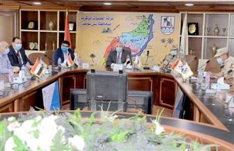 محافظ بني سويف يتابع بدء عملية التصويت في ثاني أيام انتخابات مجلس النواب | صور