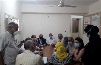 رئيس مدينة سفاجا تترأس غرفة العمليات الفرعية باليوم الثاني لانتخابات النواب | صور