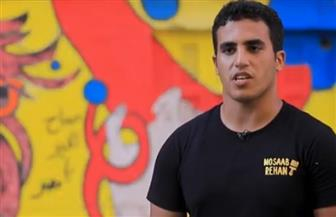 رسام جرافيتي يحول شوارع بورسعيد لجداريات مبهجة | فيديو