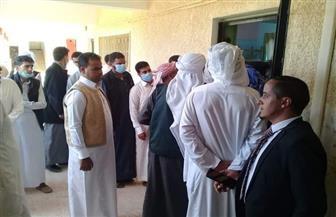 """إقبال كثيف على اللجان بمدن مطروح فى اليوم الثاني لانتخابات """"النواب""""   صور"""