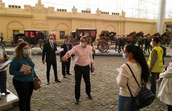 وزير السياحة والآثار يتفقد متحف المركبات الملكية تمهيدا لافتتاحه| صور
