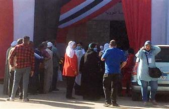 إقبال كثيف على اللجان الانتخابية في إمبابة