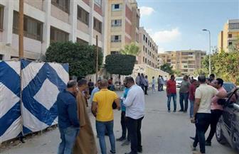 إقبال كثيف من الرجال للتصويت بلجان مدرسة محمود عمر بحدائق الأهرام