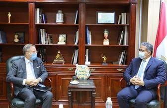 وزير السياحة والآثار يبحث مع سفير الدنمارك الجديد بالقاهرة سبل التعاون بين البلدين | صور