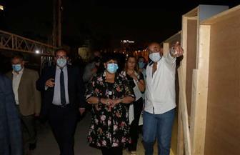 وزيرة الثقافة تتفقد مسرح النافورة الجديد بالأوبرا استعدادا لمهرجاني الموسيقى والقاهرة السينمائي| صور