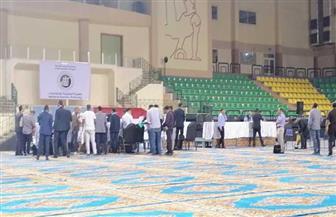 اللجنة العامة بالبحر الأحمر تبدأ في استلام كشوف فرز اللجان الفرعية| صور