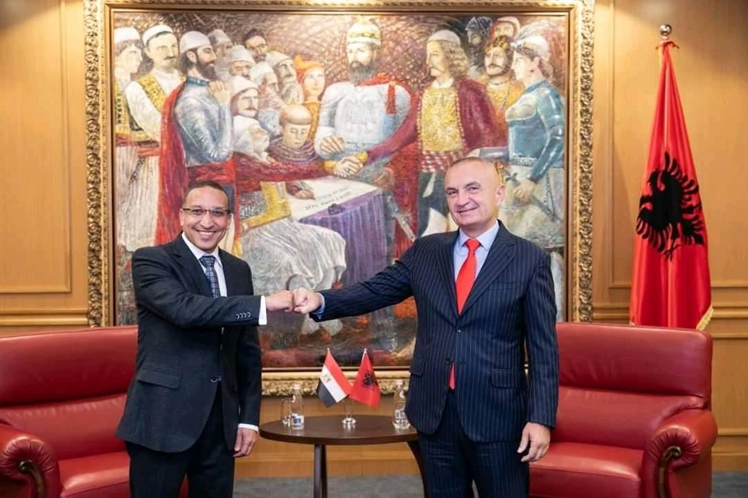 السفير المصري في تيرانا