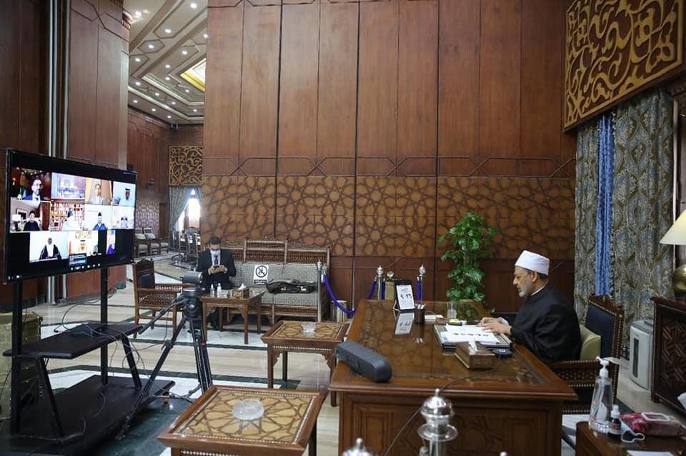 شيخ الأزهر الشريف يترأس اجتماع مجلس حكماء المسلمين