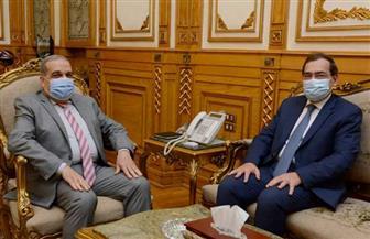 وزيرا «الإنتاج الحربي» و«البترول» يشهدان توقيع بروتوكول للتعاون في عدد من المجالات