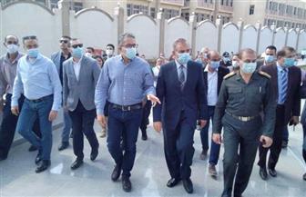 «نور الدين» يستقبل وزير الآثار لتفقد متحف كفر الشيخ تمهيدا لافتتاحه | صور
