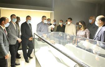 وزير الآثار ومحافظ كفرالشيخ يتفقدان متحف الآثار القومي الجديد تمهيدا لافتتاحه خلال أيام   صور