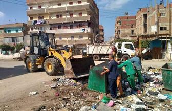 محافظ المنوفية: رفع 55 ألف طن مخلفات هدم وتراكمات قمامة منذ بداية الشهر الجاري | صور