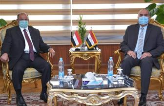 وزير الطيران المدني يستقبل نائب رئيس الوزراء اليمني |صور