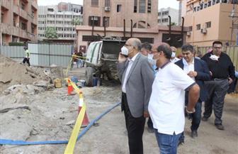 رئيس جامعة طنطا: إنهاء أعمال الإنشاءات بمستشفى جراحات الكلى والمسالك الجديد العام المقبل| صور
