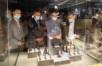 «العناني ونور الدين» يتفقدان متحف كفر الشيخ تمهيدا لافتتاحه