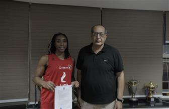 الأهلي يتعاقد مع الأمريكية كايلا لتدعيم فريق السلة