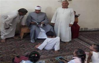 جولة لمدير منطقة الأقصر الأزهرية بمكاتب تحفيظ القرآن الكريم | صور