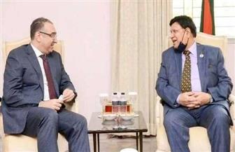 وزير خارجية بنجلاديش يستقبل السفير المصري بمناسبة انتهاء فترة رئاسته لبعثة مصر في دكا