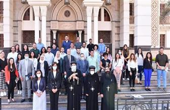 نبيلة مكرم: الشباب المصري بالداخل والخارج يلقى اهتماما كبيرا من القيادة السياسية والحكومة | صور