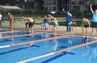 التربية الرياضية تحصد المراكز الأولى لبطولة جامعة سوهاج للسباحة | صور