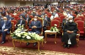 بث مباشر لاحتفالية ذکری المولد النبوي الشريف بحضور الرئيس السيسي