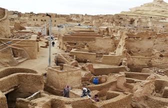 """افتتاح قرية """"شالي"""" الأثرية بواحة سيوة بعد عامين من الترميم"""
