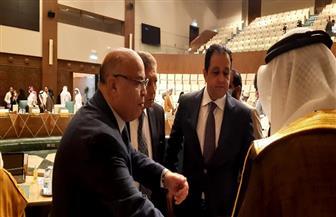 علاء عابد يفوز بمنصب النائب الأول لرئيس البرلمان العربي | صور