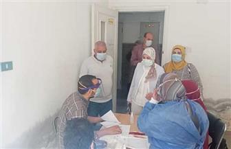 الكشف على 554 من أهالي قرية «برما» في قافلة طبية لجامعة طنطا | صور