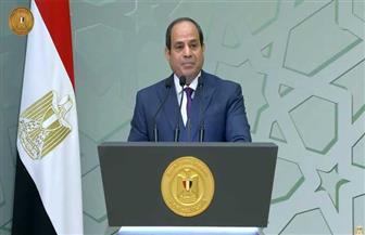 الموقع الرئاسي ينشر فيديو مشاركة الرئيس السيسي في احتفالية ذكرى المولد النبوي