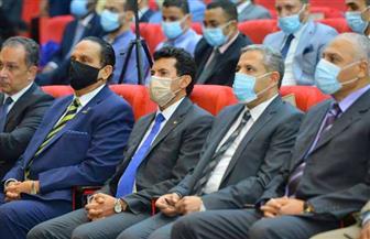 وزير الرياضة يستعرض التجربة المصرية لعودة النشاط الرياضي في ظل «كورونا» | صور