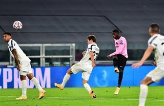 «ديمبلي» يسجل هدف برشلونة الأول في شباك يوفنتوس