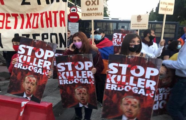 جانب من التظاهرة
