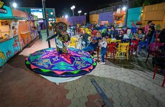 «مواقع شارع 306» تحتفل بالمولد النبوي بتقديم عروض التنورة والحلوى للأطفال| صور