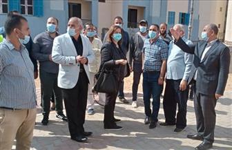 مسئولو وزارة الإسكان يتفقدون الإسكان الاجتماعي بمدينة بدر| صور