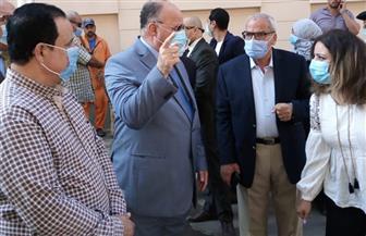 محافظ القاهرة يتفقد تطوير محيط متحف المركبات الملكية في بولاق أبو العلا
