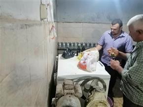 ضبط وإعدام 146 كيلو لحوم منتهية الصلاحية وتحرير 23 محضر إشغال بالمنوفية| صور
